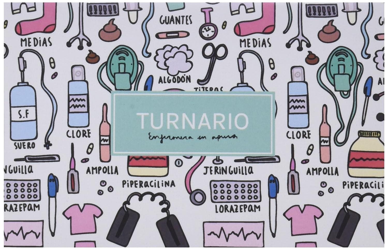 Enfermera en Apuros TURNPECO - Turnario con pegatinas