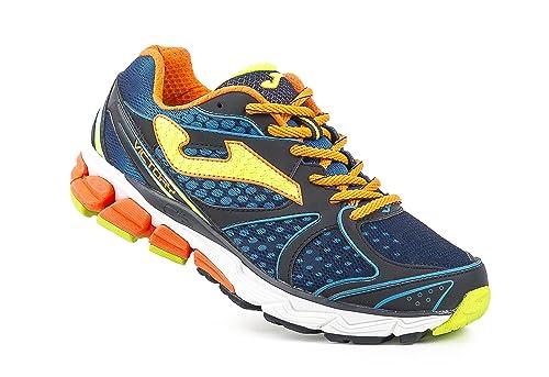 Joma R.Victory 603 Marino-Naranja - Zapatillas de Running Hombre: Amazon.es: Zapatos y complementos