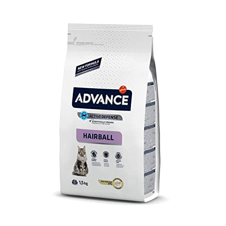 Advance Hairball Pienso para Gatos con Pavo - 1500 gr