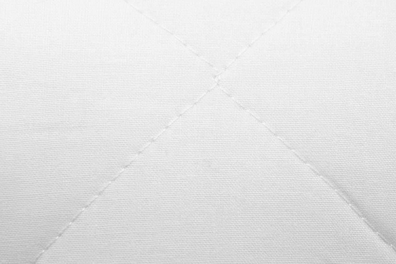 15x40 cm Blanc avec Fermeture /à glissi/ère ZOLLNER traversin