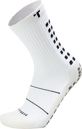 TRUSOX Mid-Calf Crew Thin Soccer Socks (Pair)