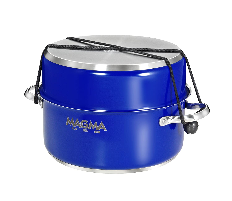 MAGMA 10 Piezas Gourmet matriuscas ollas de Acero Inoxidable con ...
