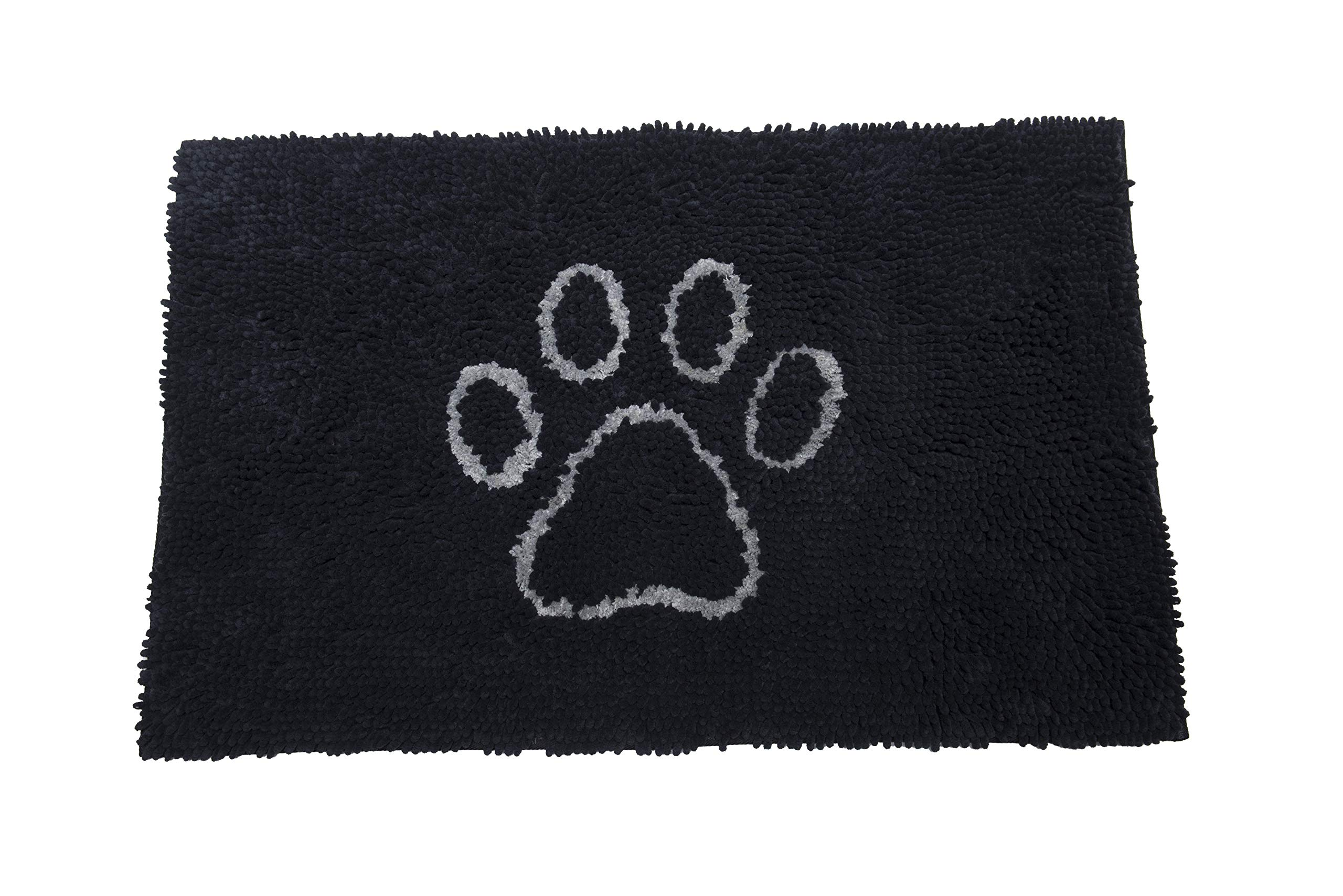 Dog Gone Smart Pet Products Dirty Dog Doormat, Large, Black Hue W/Light Grey by Dog Gone Smart Pet Products