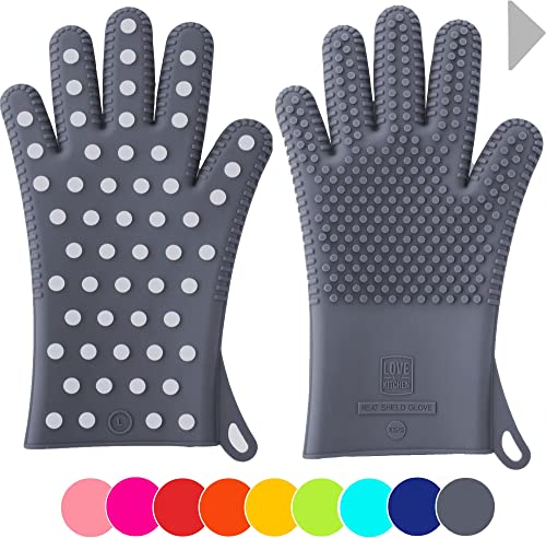 Heavy Duty Women's Silicone Oven Mitts