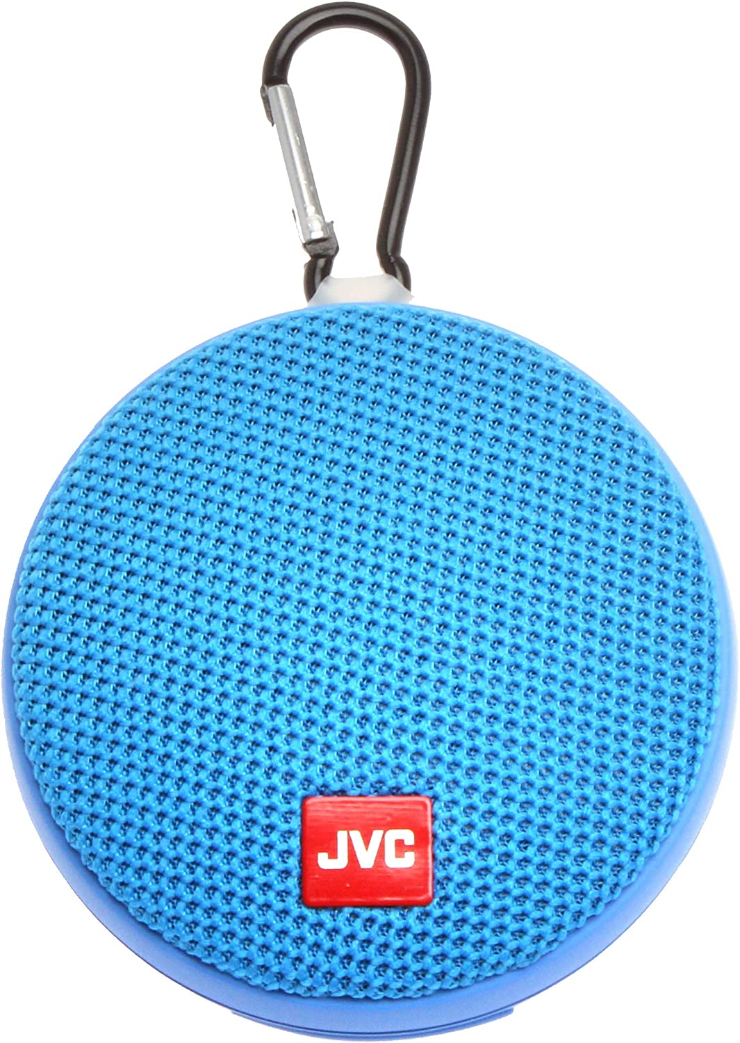 JVC Portable Wireless Speaker with Surround Sound, Bluetooth 5.0, Waterproof IPX4, 7-Hour Battery Life - SPSA2BTA (Blue)