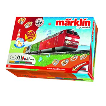 Märklin 29210 - Maqueta de tren de mercancías con batería y juntas magnéticas