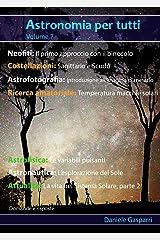 Astronomia per tutti: volume 7 (Italian Edition) Kindle Edition