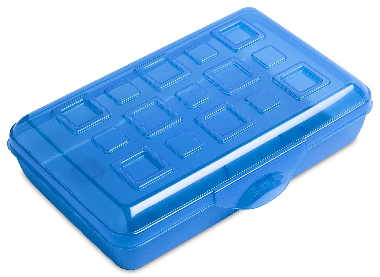 Sterilite 17224812 Small Pencil Box, Splash Tint, 12-Pack