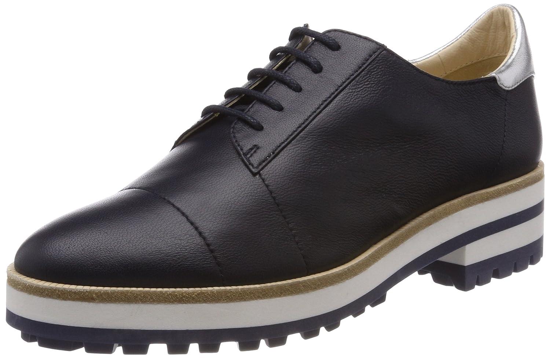 JIL Sander Iconic, Zapatos de Cordones Derby para Mujer 37.5 EU Azul (Navy Argento 731)