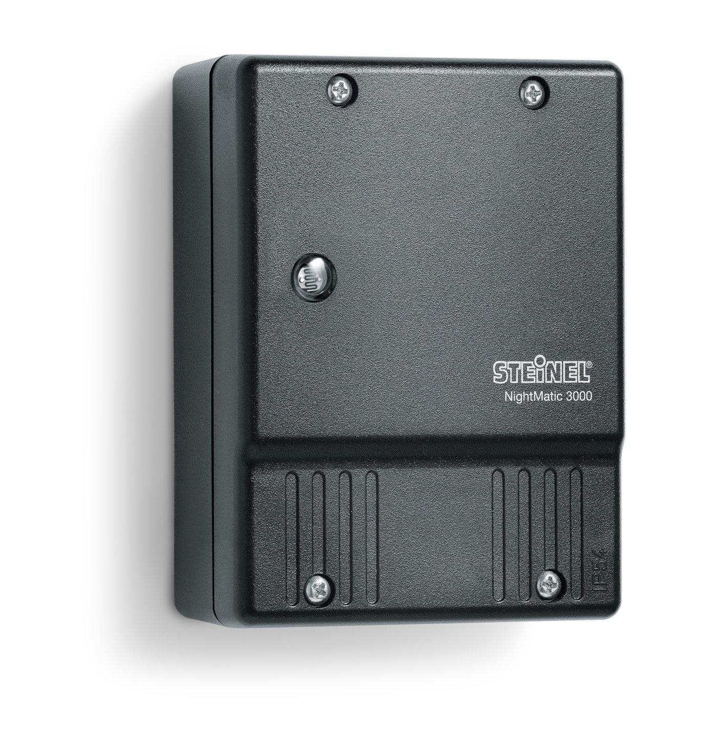 Steinel Twilight Switch NightMatic 3000 black, Photoelectric ...