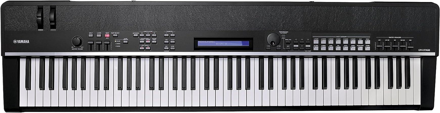 Yamaha - Teclado de escenario CP4 STAGE de 88 teclas: Amazon ...