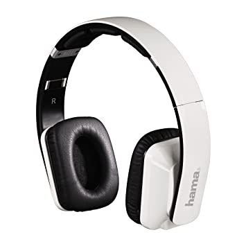 Hama Revolution - Auriculares de diadema con Bluetooth, color blanco