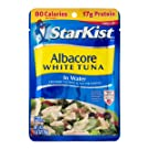 StarKist Albacore White Tuna in Water - 2.6 oz Pouch (Pack of 12)