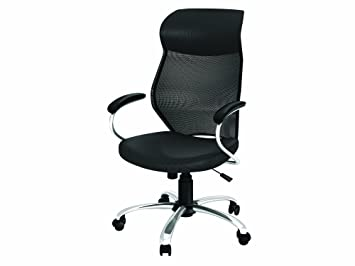 Perfect Z Line Designs Manager Chair, Black Mesh