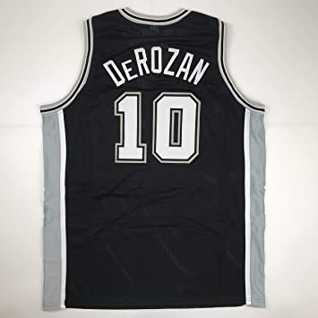 Unsigned DeMar DeRozan San Antonio Black Custom Stitched Basketball Jersey  Size Men s XL New No Brands e3c188371