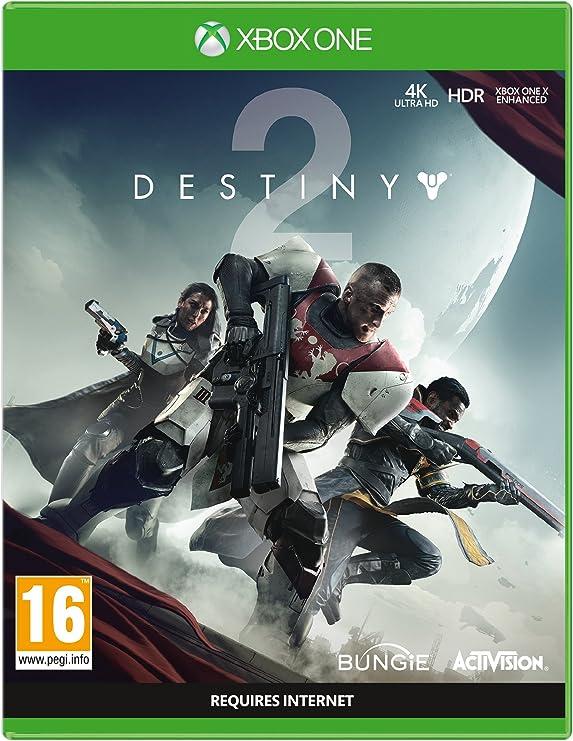 Destiny 2 with Salute Emote (Exclusive to Amazon) - Xbox One [Importación inglesa]: Amazon.es: Videojuegos