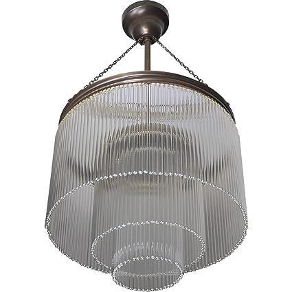 Lámpara colgante de techo art deco Glamour - Lámpara de ...