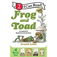 Frog and Toad: A Complete Reading Collection: Frog and Toad Are Friends, Frog and Toad Together, Days with Frog and Toad…