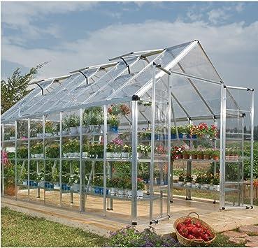 8 x 16 Palram invernadero Snap y Grow: Amazon.es: Jardín