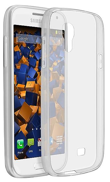 mumbi UltraSlim Hülle für Samsung Galaxy S4 mini Schutzhülle transparent (Ultra Slim - 0.70 mm)