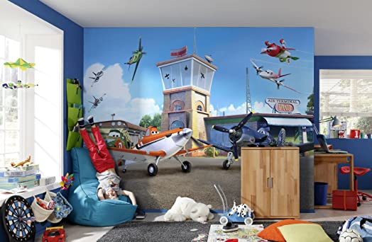 Kids Photo Wallpaper DISNEY PLANES Childrens Boys Wall Murals (8 469) Part 58