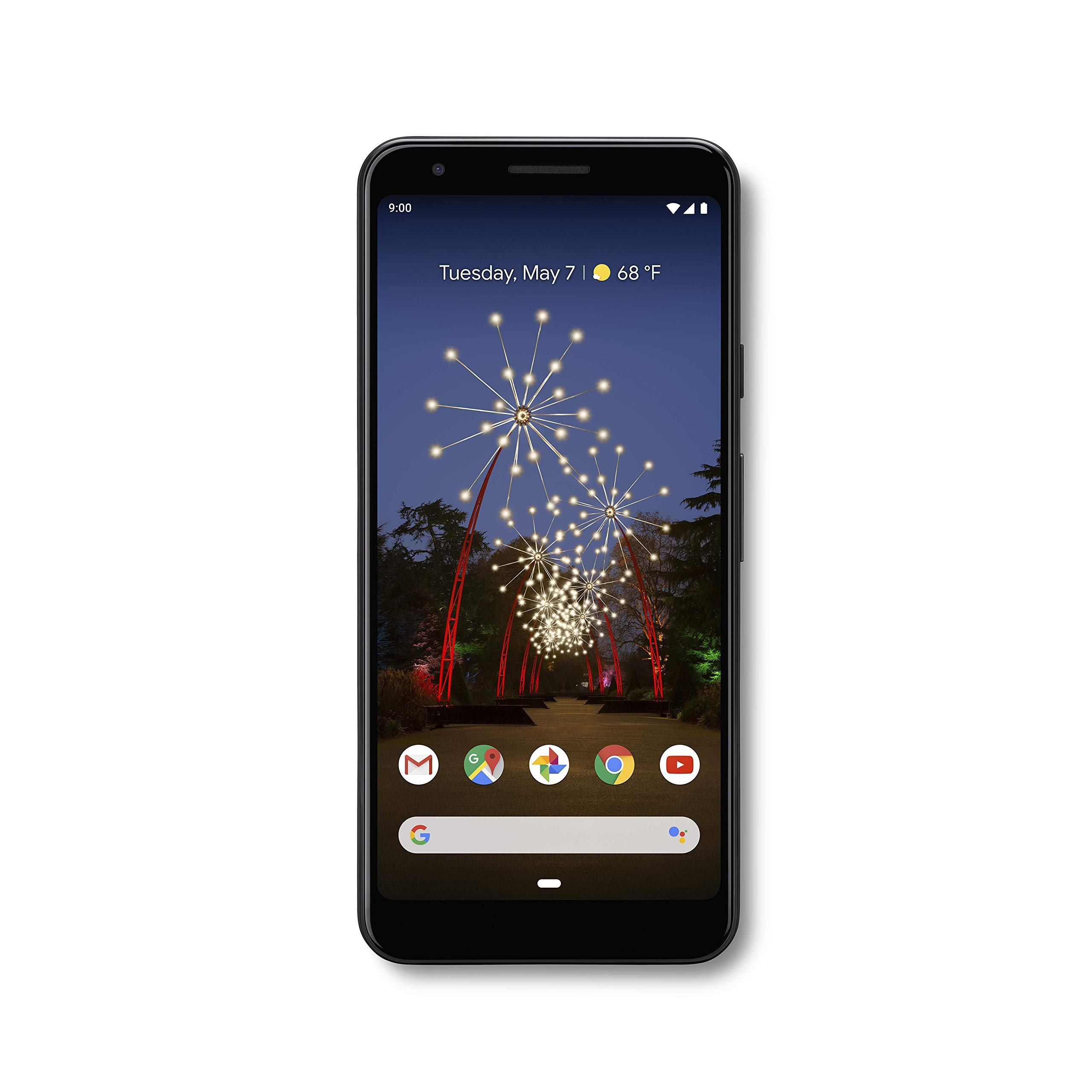 Google - Pixel 3a with 64GB Memory Cell Phone (Unlocked) - Just Black by Google