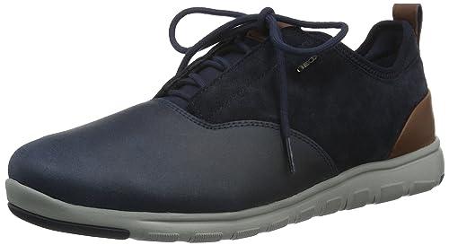 Geox U Xunday 2FIT a, Zapatillas Para Hombre, Braun (MUDC6372), 44 EU