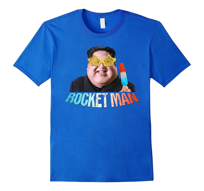Rocket Man Kim Jong Un Pop Icecream Bomb T-Shirt-TJ