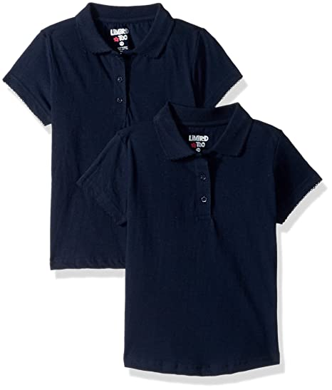 cfe64f8f6 Limited Too Girls  2 Pack Polo Shirt (More Styles Available) at Amazon  Women s Clothing store