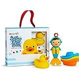 Munchkin Baby's First Bath, 3Piece Bath Toy Gift Set