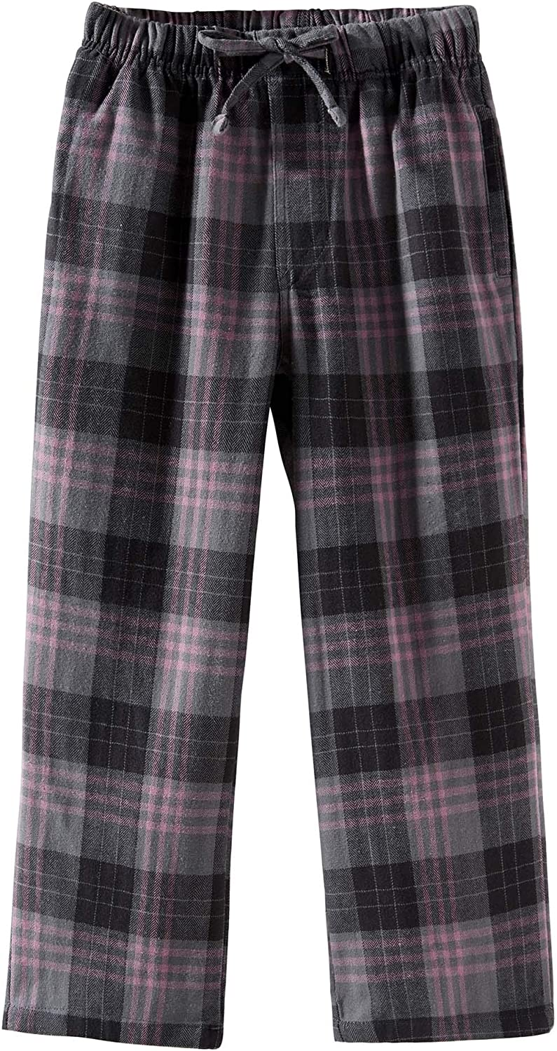 Spring/&Gege Boys Plaid Soft Flannel Pajama Pants 100/% Cotton Lounge Sleep Bottoms