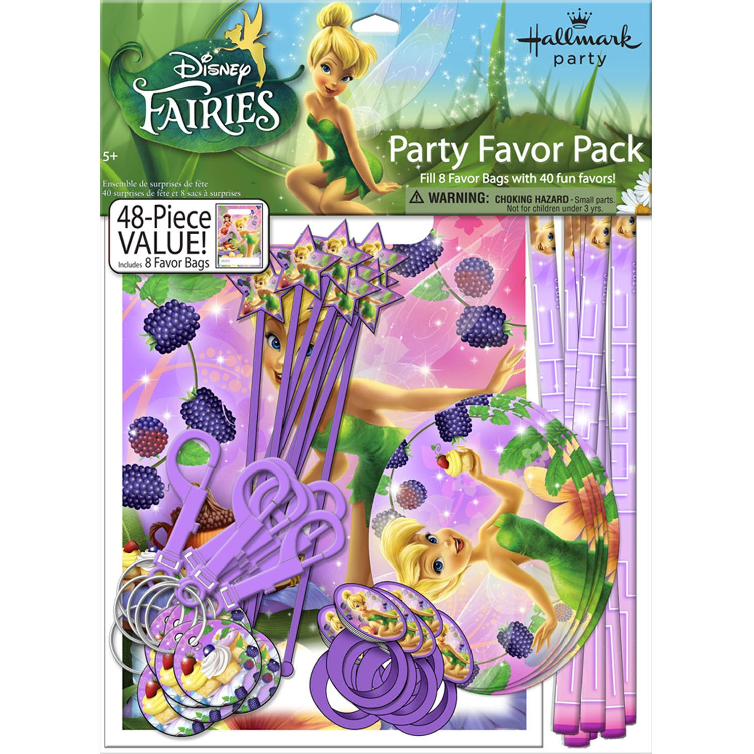 Tinkerbell Sweet Treats Party Favor Set by Party Express