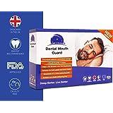 Time2Sleep - 4X Bite Dentale Notturno Automodellante anti Bruxismo Contenitivo o Apparecchio di Contenzione Digrignare i denti e disturbi dell' ATM