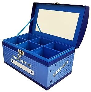 Boys Treasure Box Jumbo - Blue