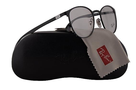 8fcc0fec70 Ray Ban RX6355 Eyeglasses 50-20-145 Matte Black w Demo Clear Lens 2503 RX  6355 RB 6355 RB6355  Amazon.co.uk  Clothing