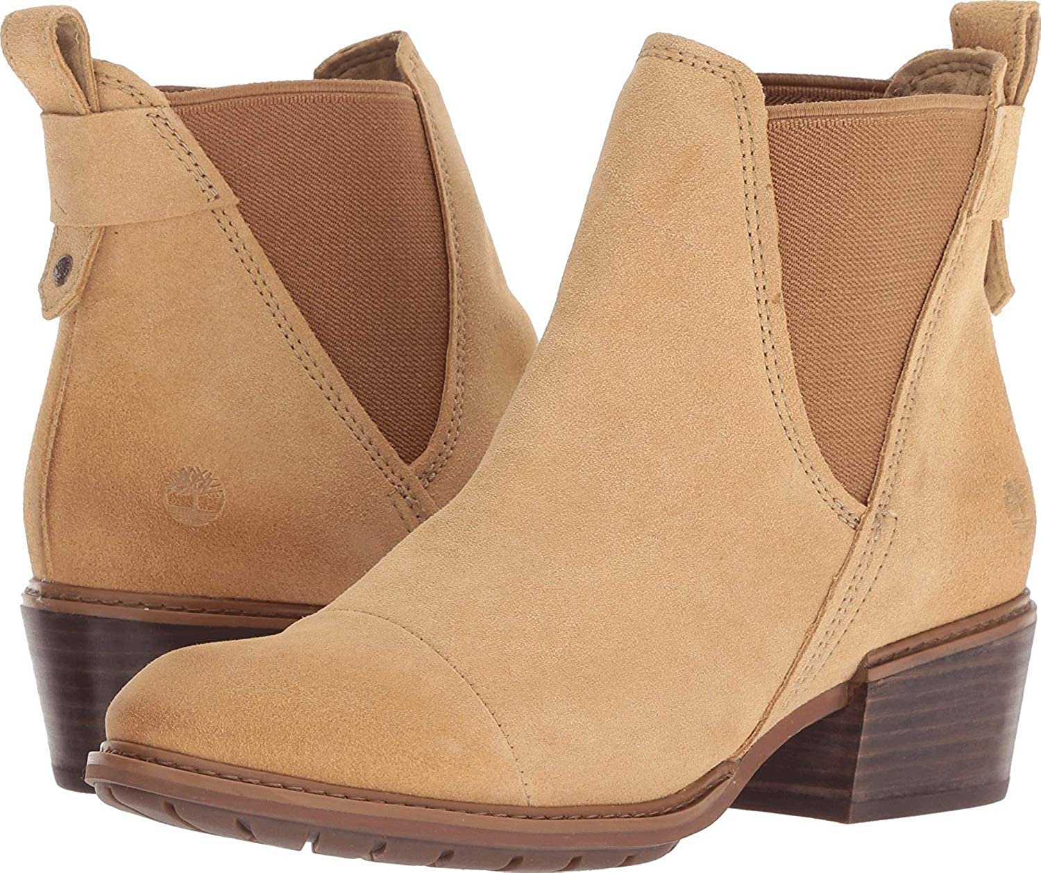 2ee3cd2f4ab Timberland Womens Sutherlin Bay Slouch Chelsea Chelsea Boots