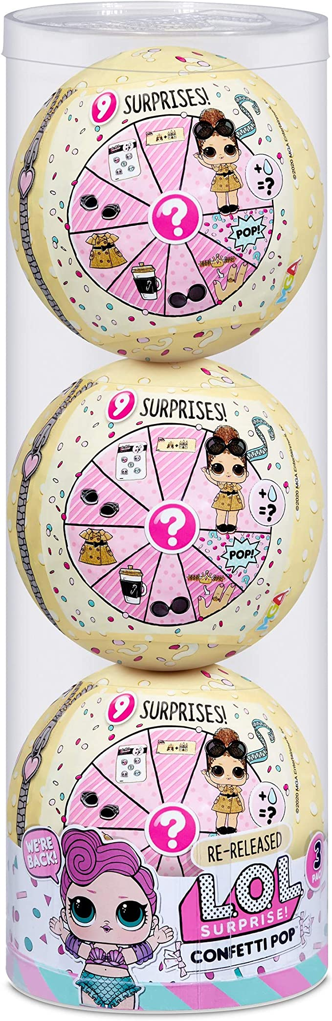 LOL Surprise SHOWBABY Re-Release Brand New!