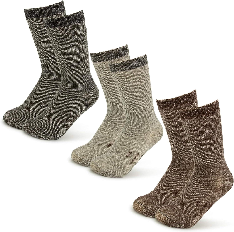 2 Pares Calcetines Mujer Senderismo Calcetines para Trekking Transpirable Alto Rendimiento,T/érmicos Acolchados y Antiampollas Transpirables Calcetines de Monta/ña