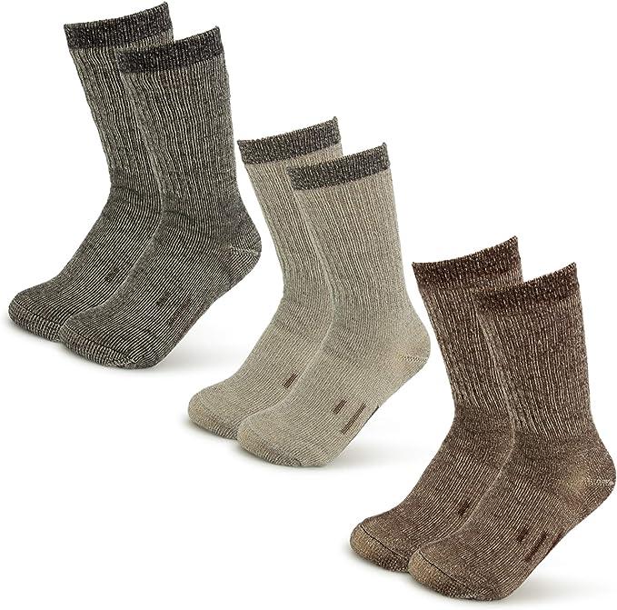 MERIWOOL Merino Wool Kids Hiking Socks for Children 3 Pairs
