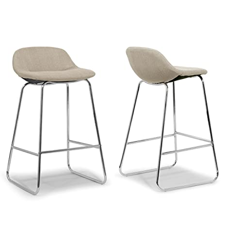 Collections Of Modern Metal Lowback Bar Stool