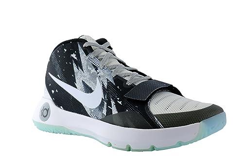 huge discount 7476d f0a0a Nike Men s KD Trey 5 III Premium Mid Basketball Shoes (8, Black White