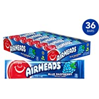 36-Pack Airheads Blue Raspberry Bars (0.55 Ounce)