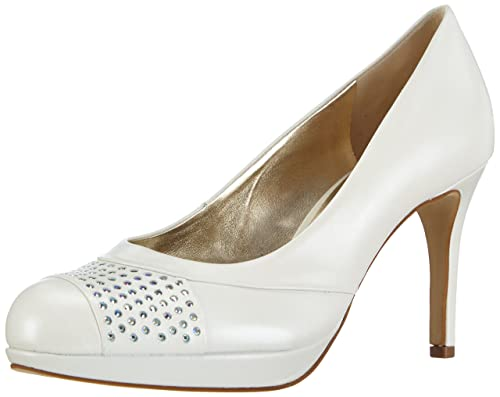 291b5522438ea4 HÖGL Womens 9-108093 Closed pumps White Weiß (0300) Size  9 1 2 ...