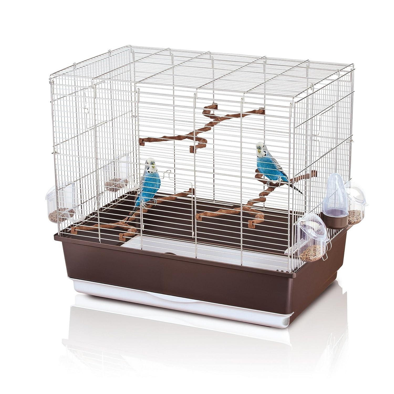 Imac 5-08301 Jaula Pájaros Irene Export, Cromado y Azul: Amazon.es ...