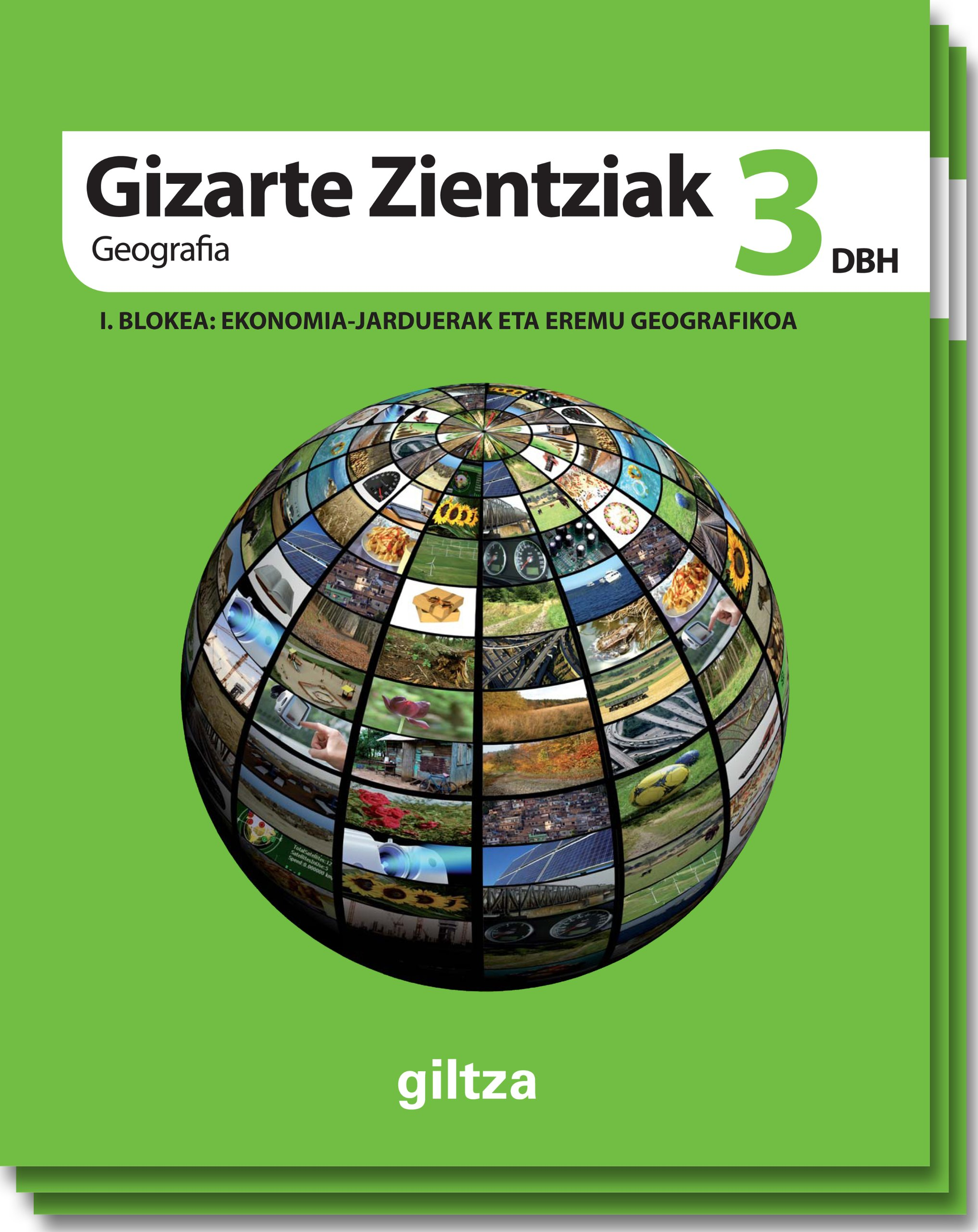 GIZARTE ZIENTZIAK, GEOGRAFIA ETA HISTORIA DBH 3 - 9788483782262: Amazon.es: Edebé, Obra Colectiva: Libros
