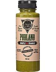 Sinai Gourmet Vinegar-Free Hot Pepper Coulis - Poblano Original, 240 Milliliter