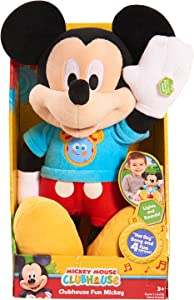 Just Play MMCH Mickey Hot Diggity Dog Plush