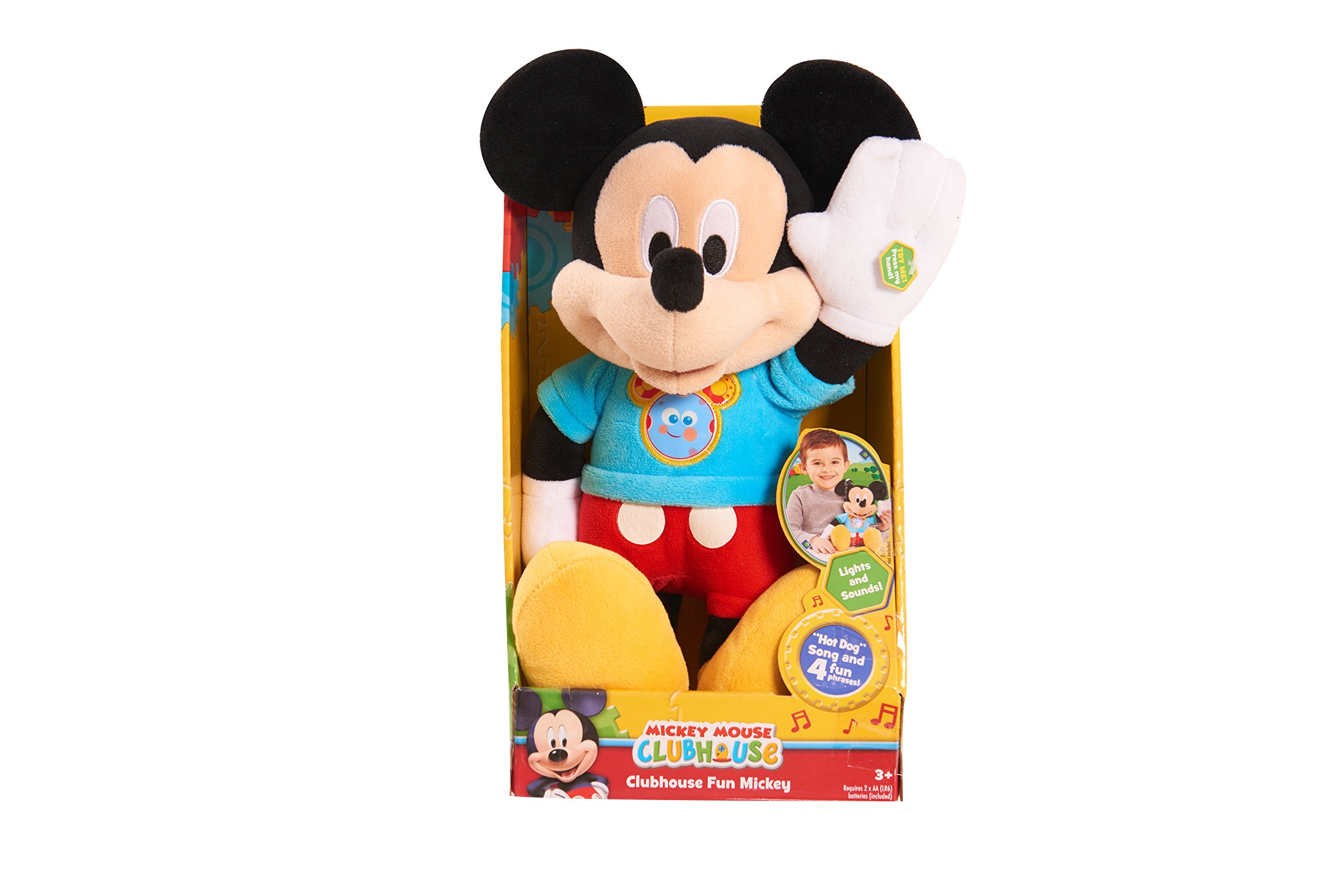 Just Play MMCH Mickey Hot Diggity Dog Plush by MICKEY ROADSTERS