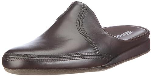 TG 45 EU Fortuna Exklusiv Flex 43800102 Pantofole uomo Nero B0p