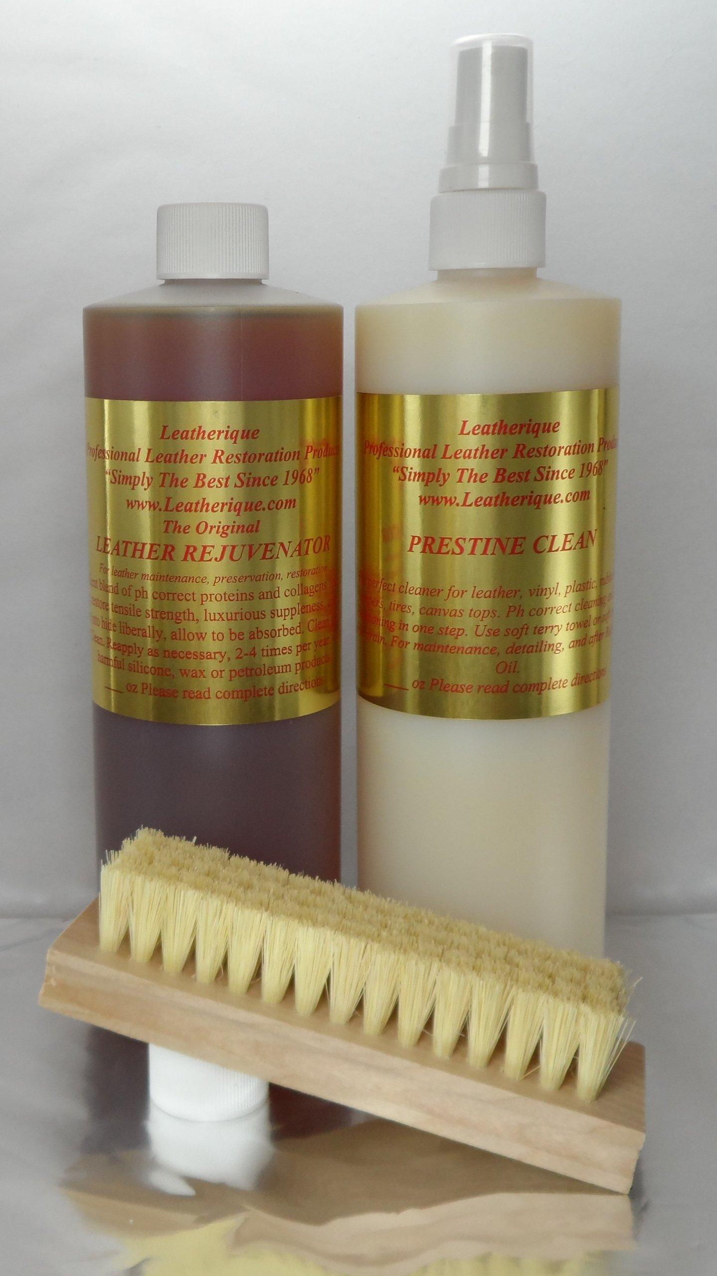 Leatherique Leather Rejuvenator/ Prestine Clean Pair 16 Oz by Leatherique (Image #2)